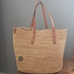 Packable Woven Ivahona Tote